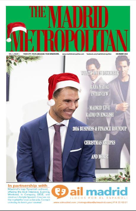 The Madrid Metropolitan December2016