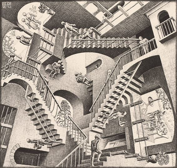 MC-Escher-Relativity